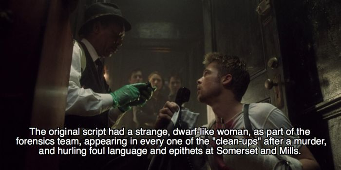 Awesome Behind The Scenes Facts About The Movie Se7en