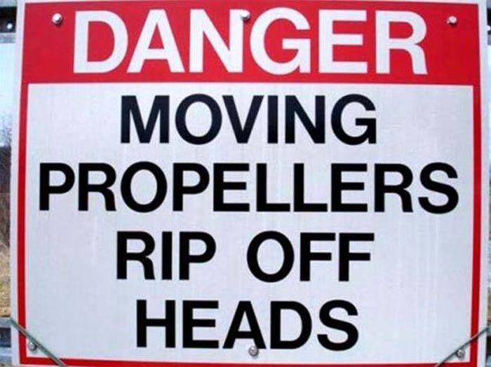 As Long As These Signs Exist Idiots Are Safe