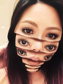 Eerie And Incredible Makeup Designs By Mimi Choi