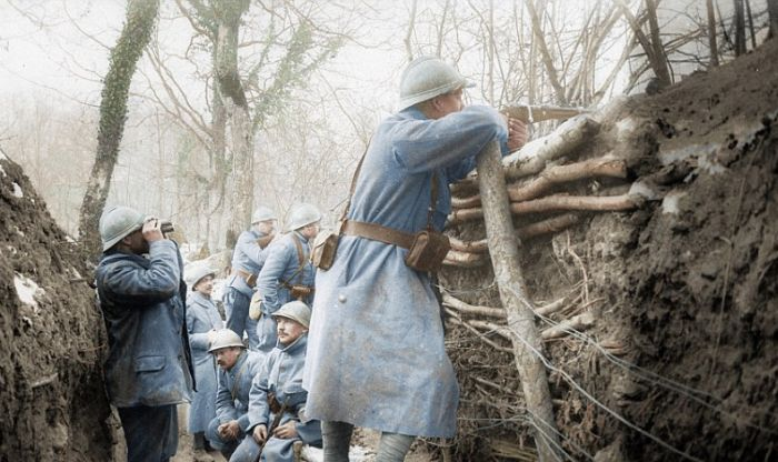 Vintage World War I Photos Look Stunning In Color | Others