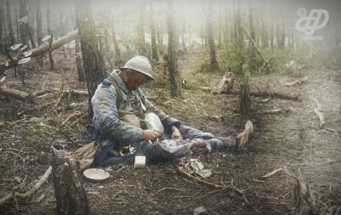 Vintage World War I Photos Look Stunning In Color