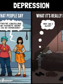 What People Say About Mental Illness Vs What They Actually Mean
