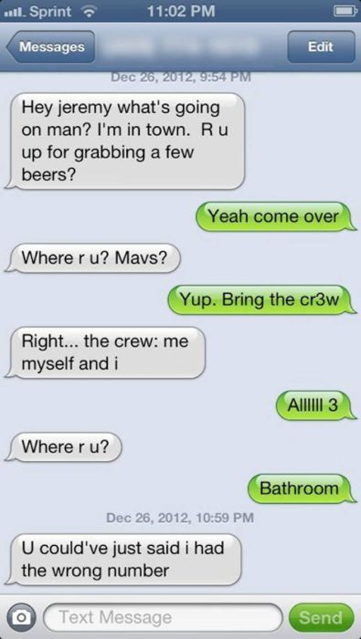 Wrong Number Texts That Are Hilariously Awful