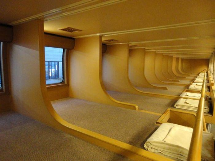 Many Japanese People Prefer The Sunrise Express Train