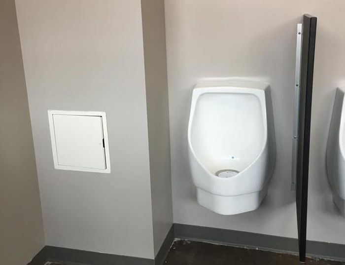 This Secret Toilet Is Only For The Staff
