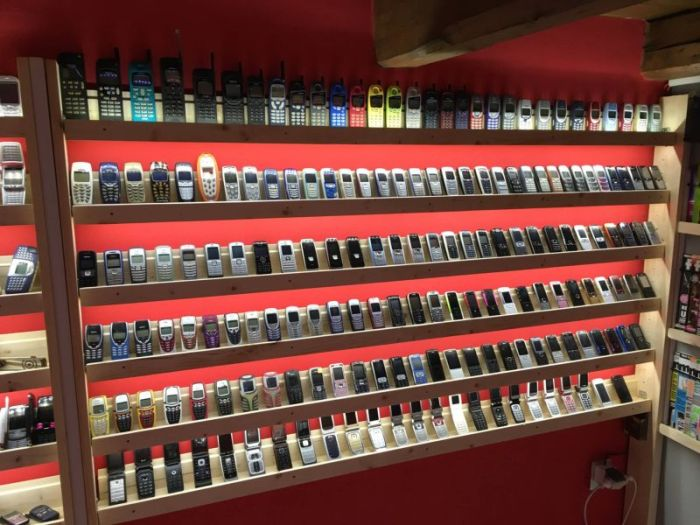 This Might Be The World's Biggest Collection Of Mobile Phones