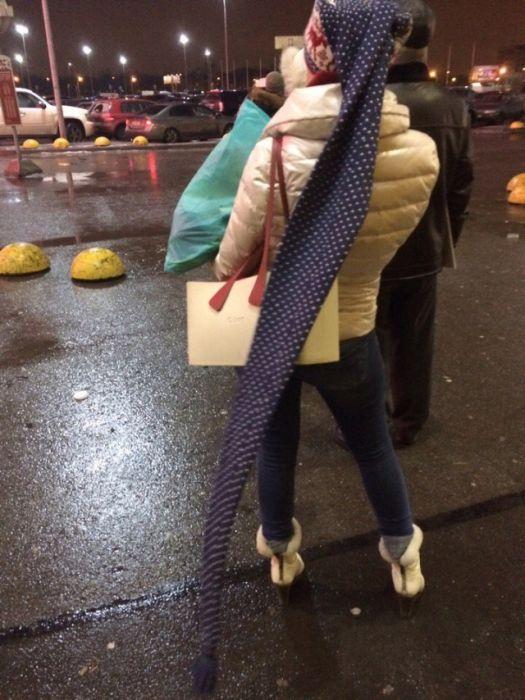 Crazy Street Fashion In Russia