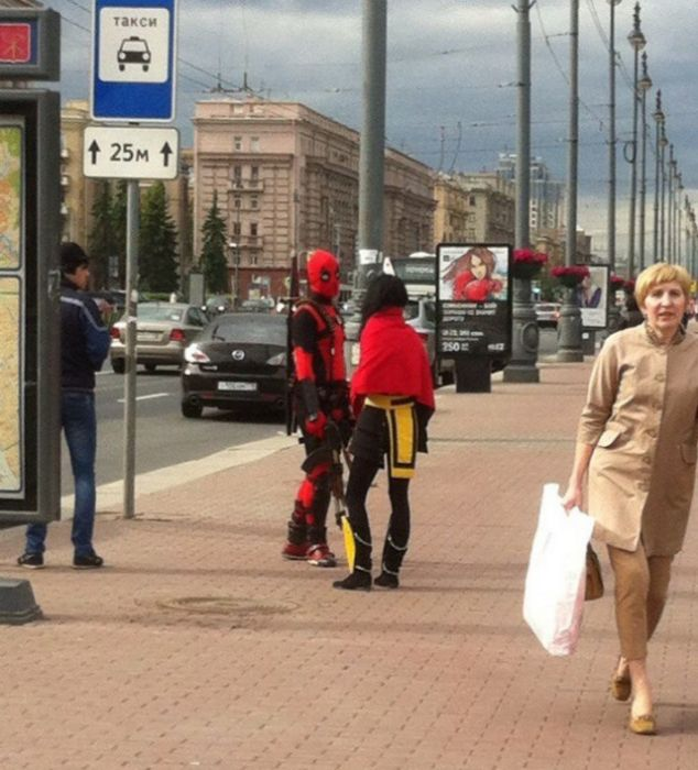 Crazy Street Fashion In Russia