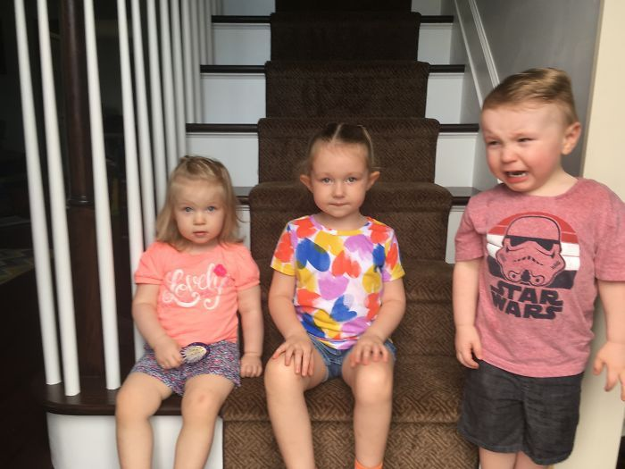 Pictures That Sum Up What It's Like To Have 3 Kids