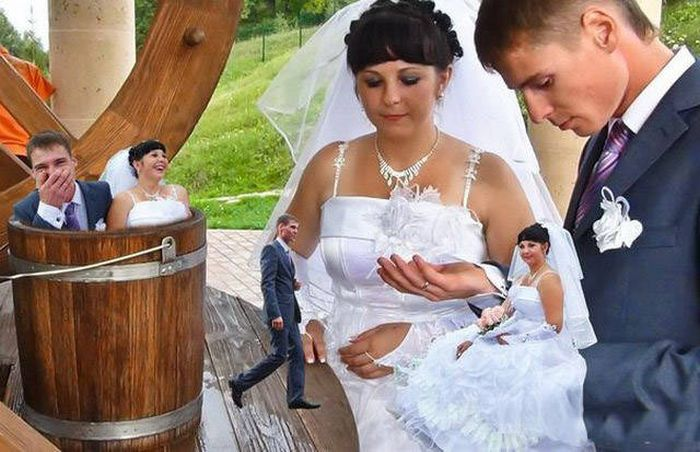 A Collection Of Wedding Photos That Should Probably Be Destroyed