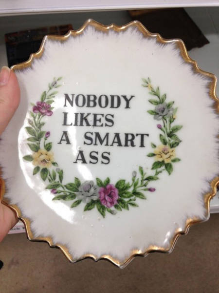 You Have To Wonder How Thrift Shops Ever Find This Stuff