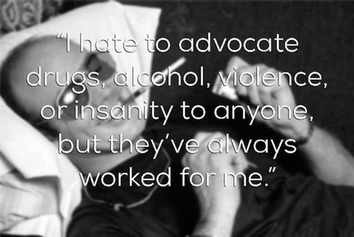 These Hunter S. Thompson Quotes Will Take You On A Journey