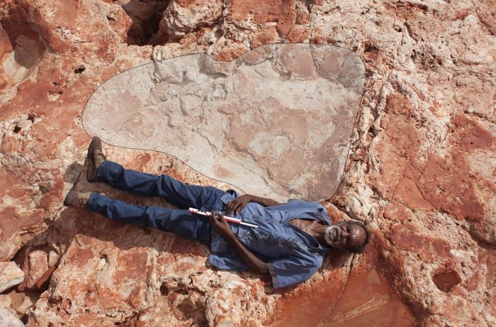 World's Largest Dinosaur Footprint Uncovered In Australia