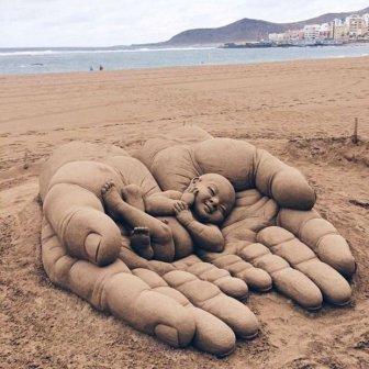 Beautiful Sand Sculptures