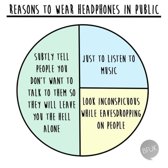 People Who Love Their Headphones Too Much