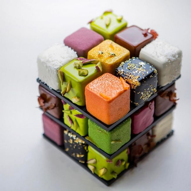 Rubik's Cakes Are Too Cool To Eat