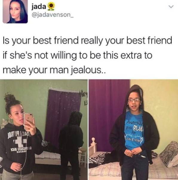 Best Friends Who Are Extra Impressive
