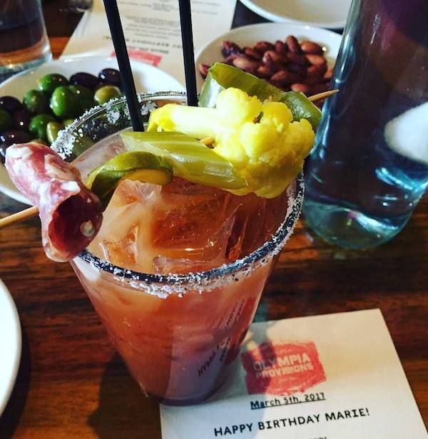The Bloody Mary Is A Delicious Looking Drink