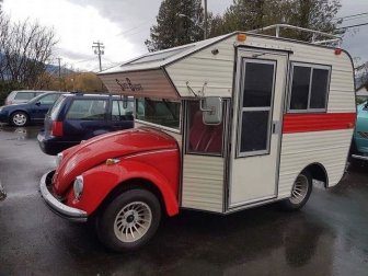 Volkswagen Bugs Also Make Awesome Campers
