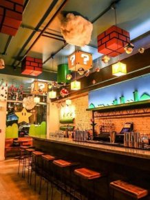 Fans Rush To Super Mario Themed Bar In Washington