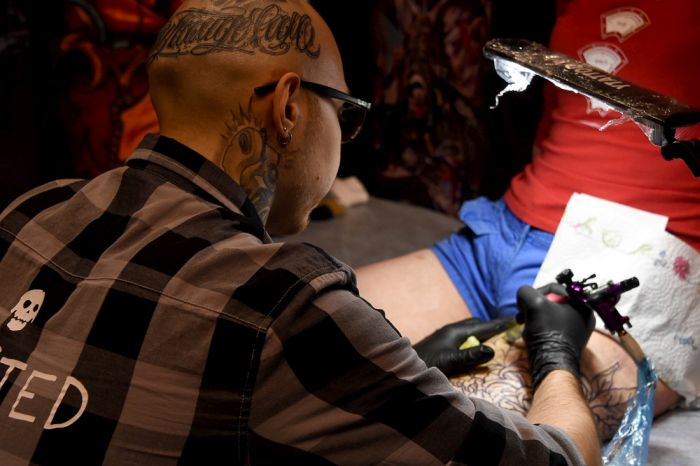 You Can See Some Amazing Things At The Moscow Tattoo Festival