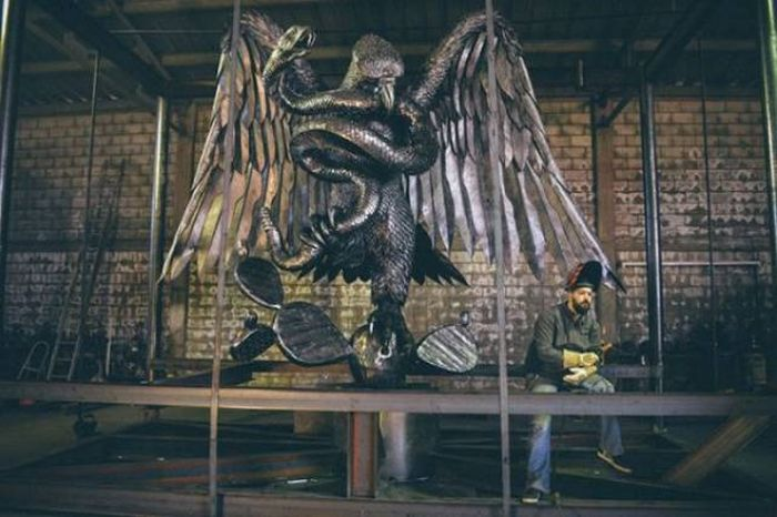Welding Can Turn Metal Into Unreal Art