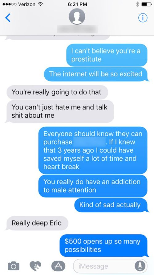 Boyfriend Exposes Cheating Instagram Model As An Escort