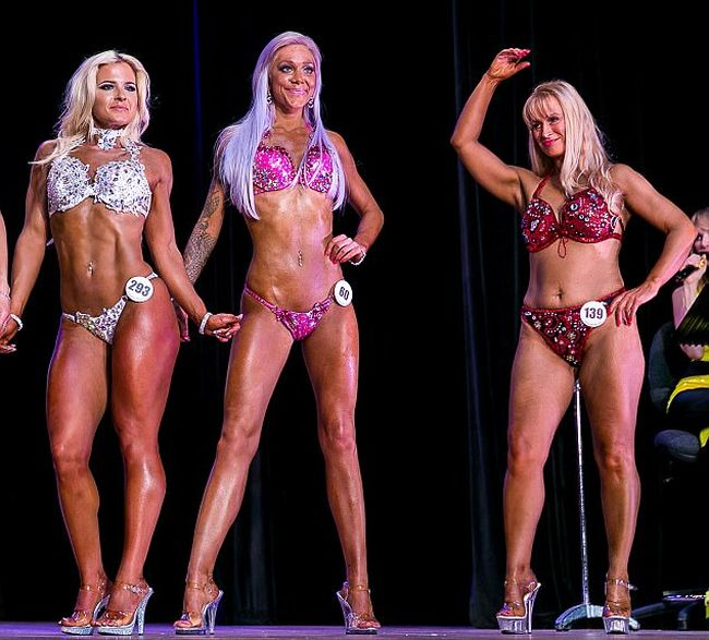Woman Goes From Anorexic To Bodybuilder In Just 18 Months