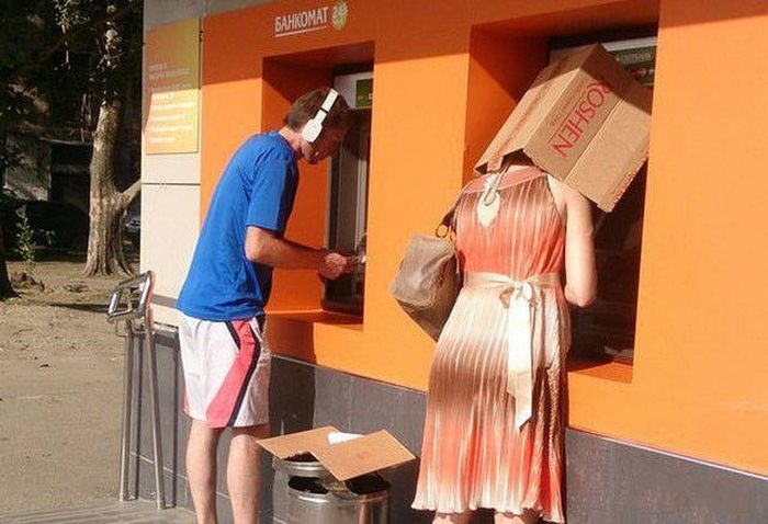 Strange Things Seen At ATMs Around The World