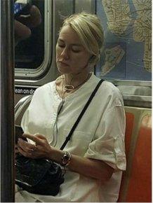 Naomi Watts Trolls Unaware Fan On The Subway