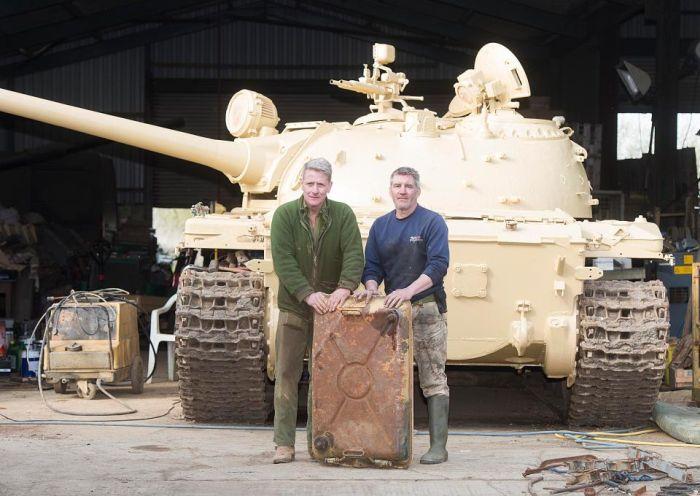 Tank Collector Finds Hidden Gold Bullion