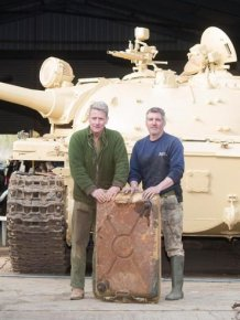 Tank Collector Finds Hidden Gold Bullion