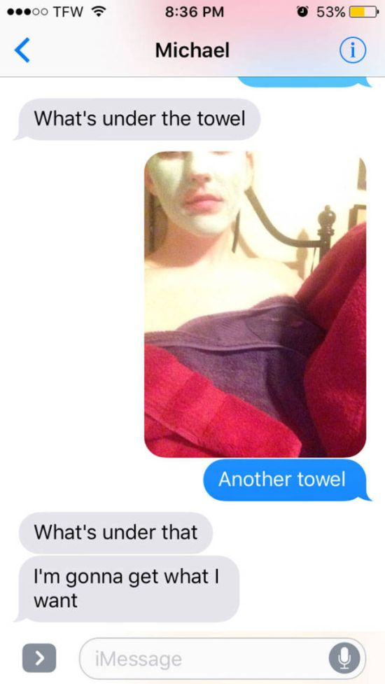 This Girl Had The Best Response When A Guy Asked Her To Send Nudes