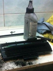 When Refueling The Printer Goes Wrong