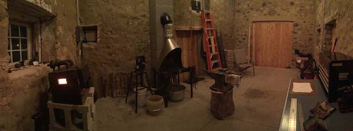 Blacksmith Turns A 200-Year-Old Ruin Into Something Special