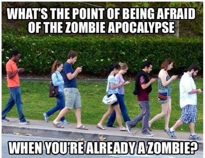 It's Funny To Think They Said Smartphone Addiction Will Never Be A Thing