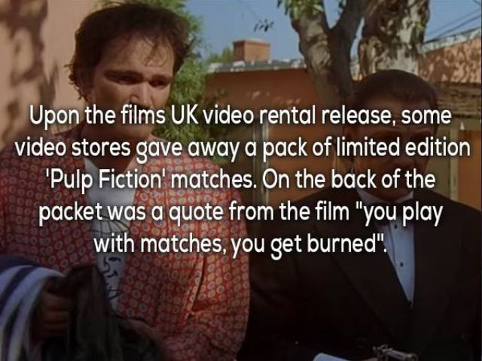 Facts That Prove Pulp Fiction Is One Of The Coolest Movies Ever