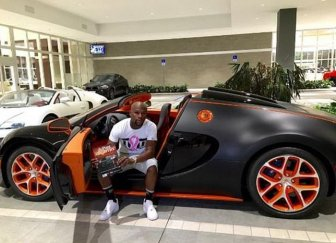 Floyd Mayweather Is Trying To Sell His Bugatti Online