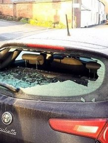 Hooligans Destroy 86 Cars With Crowbars