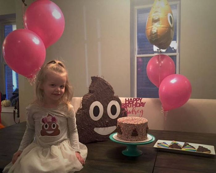 This Little Girl Actually Enjoyed Her Crappy Party