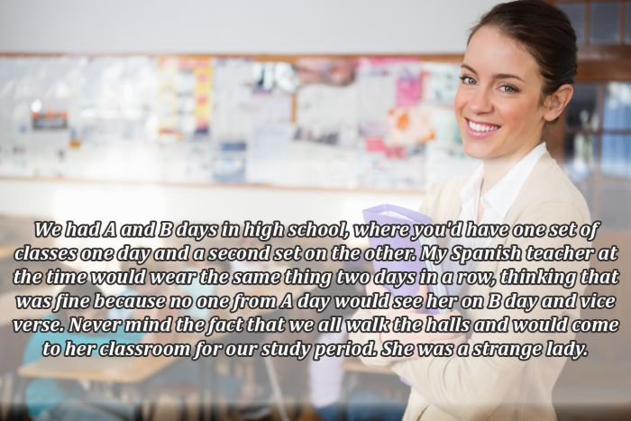 People Describe The Most Ridiculous Things Teachers Did or Said
