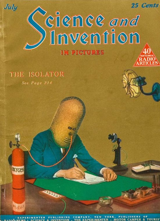 Crazy Anti-Distraction Helmet From 1925 That's Still Relevant Today