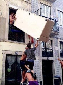A Bunch Of Idiots Who Forgot To Put Safety First