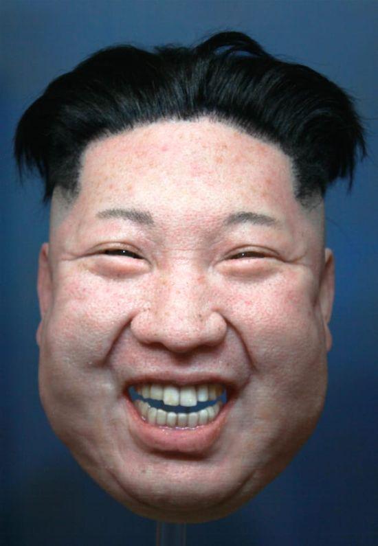 These Donald Trump, Vladimir Putin, And Kim Jong-Un Masks Are Creepy ...