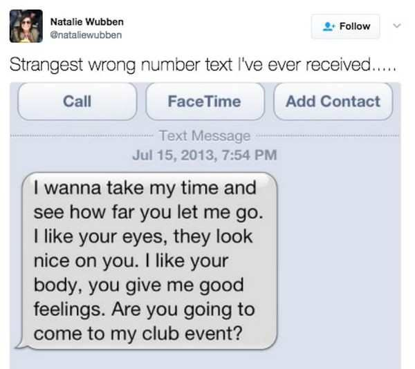 Best Wrong Number Texts In The History Of Wrong Number Texts