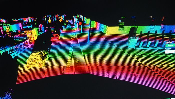See The World From The Eyes Of An Unmanned Car