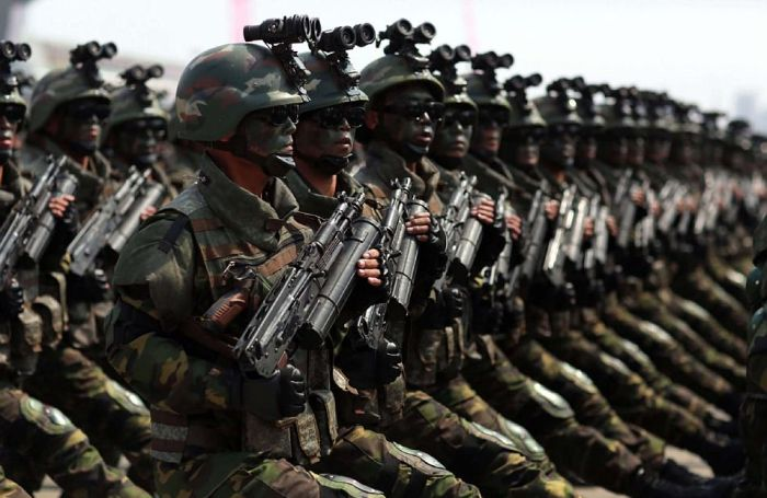 Kim Jong-Un's Special Forces
