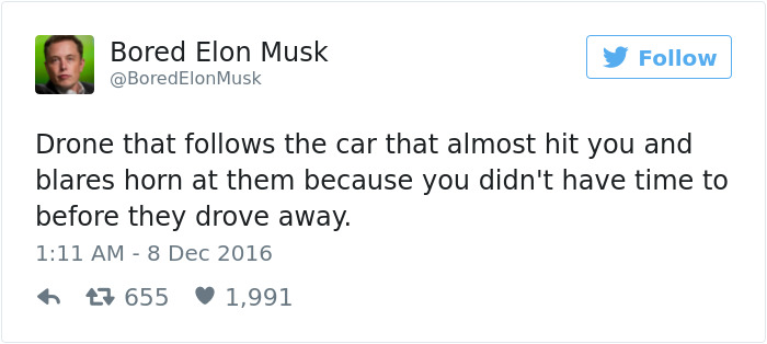 Bored Elon Musk Has Some Pretty Brilliant Ideas