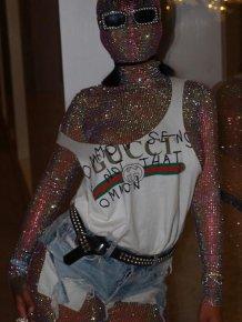 Rihanna Turns Heads With Strange Bodysuit At Coachella