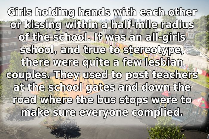 People Reveal Ridiculous Things That Got Banned At Their School